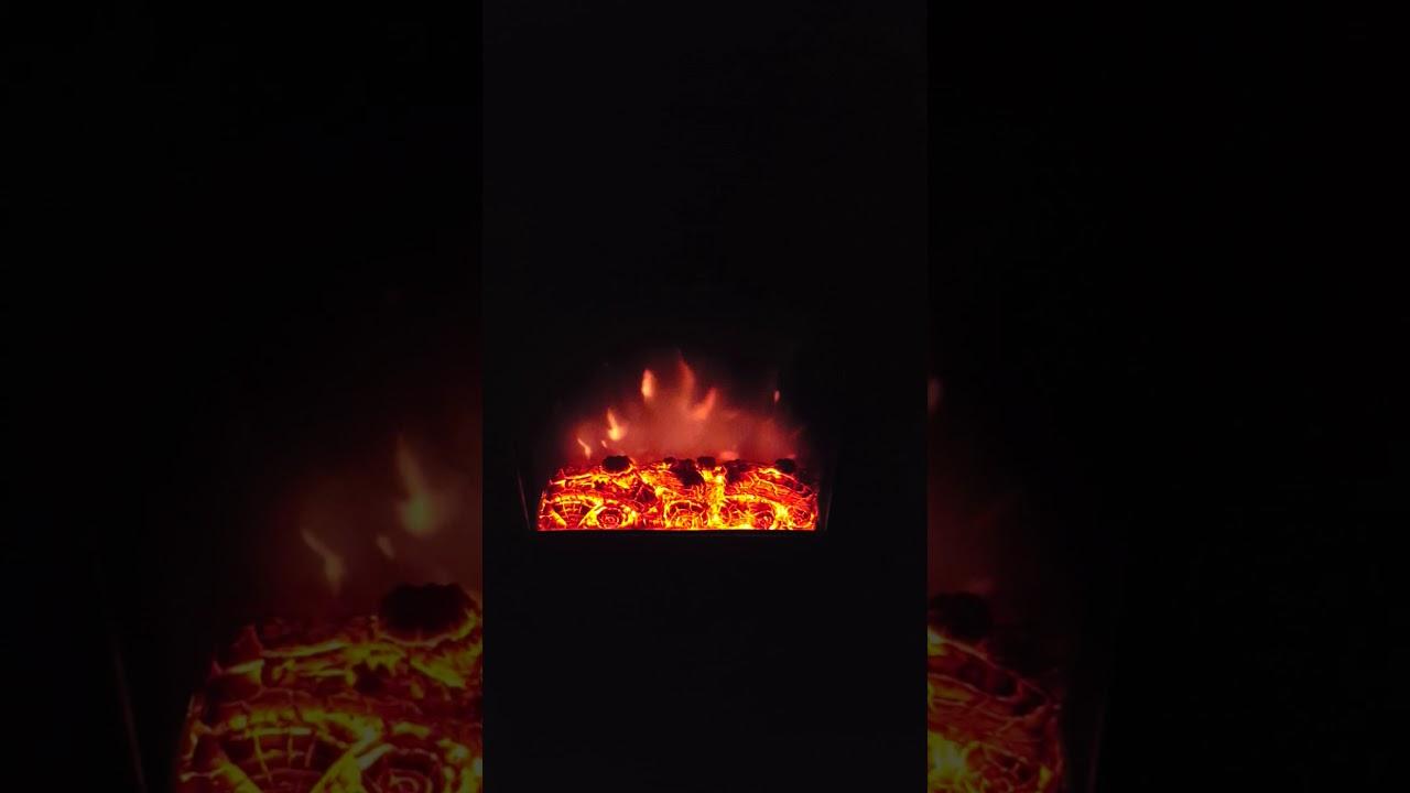 Elektrische Kaminfeuer Flammeneffekt klarstein elektrischer kamin flammeneffekt - youtube