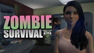 GTA 5 Mod Zombie Survival - MAGGIE !! - Part 2