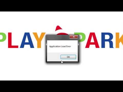 How to fix Application Load Error on Playpark Downloader
