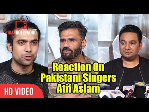 Reaction On Atif Aslam As Pakistani Singer | Baaghi O Saathi By Atif Aslam