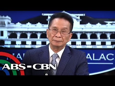 Presidential Spokesman Panelo holds press briefing in Malacañang | ABS-CBN News