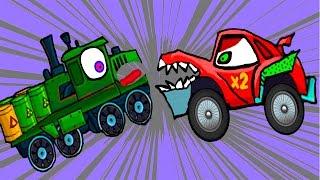 Машина Ест Машину - Хищные Машины - ИГРА как мультик Для детей - 2 часть - Серия 4#(Flavios - это игровой канал для детей, здесь вы можете смотреть самые крутые и новые игры мультики для детей,..., 2016-07-05T09:14:04.000Z)