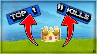 Top 1 11 kills sur Fortnite