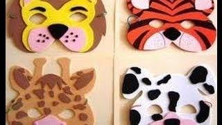 Aprende a hacer mascaras y disfraces divertidos 1