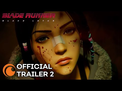 Blade Runner: Black Lotus | A Crunchyroll and Adult Swim Production | OFFICIAL TRAILER 2
