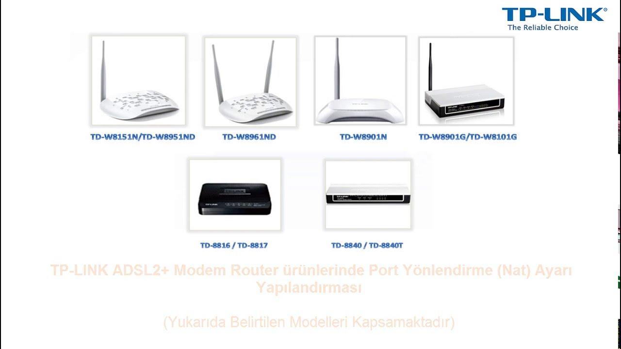 TP-Link TD-8817 v1 Router Driver Download