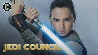 Will Rey Rebuild Luke's Lightsaber in Episode IX? - Jedi Council