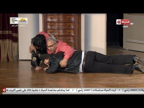 تياترو مصر - بيتحرشوا بـ بيومي فؤاد على المسرح.. مسخرة السنين 😂😂