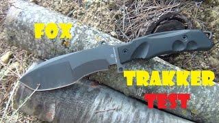 Pruebas Fox Trakker Sniper Knife FX-9CM01B