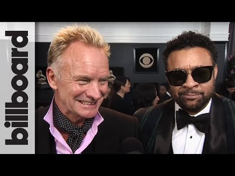 Sting & Shaggy on Their Upcoming Album & How The Collaboration Happened | Grammys 2018