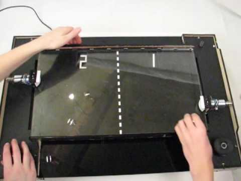 Test Driving Tabletop Pong