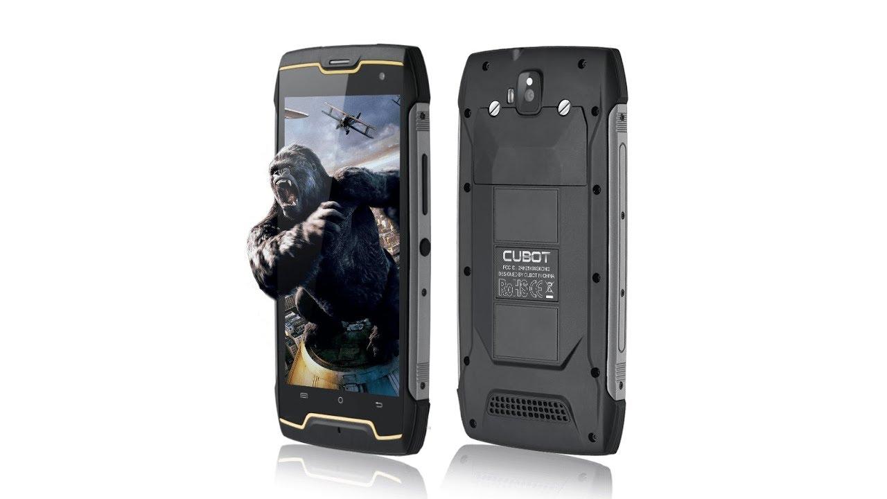 CUBOT King Kong Unboxing IP68 - YouTube 6b9a55b073a