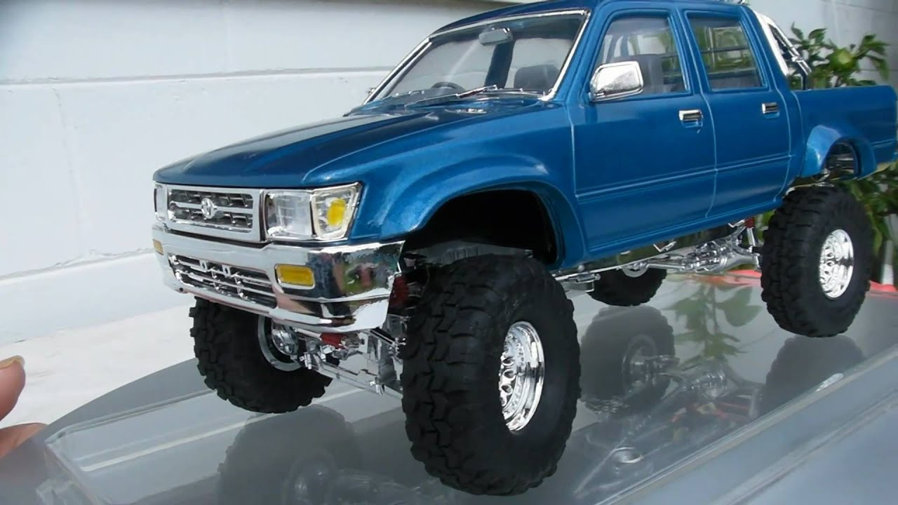 aoshima toyota hilux 4x4 pickup truck redo youtube. Black Bedroom Furniture Sets. Home Design Ideas