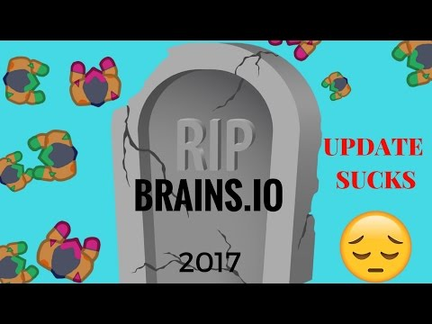 BRAINS.IO IS RUINED!!! UPDATED VERSION IS A LET DOWN :(