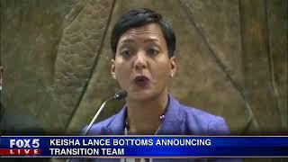 Keisha Lance Bottoms press conference