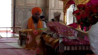 Video Bhai Bhujang Singh singing Akaal Ustaat at Sachkand Sri Hazoor Sahib download MP3, 3GP, MP4, WEBM, AVI, FLV November 2017