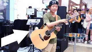 Download A Teen Boy Playing Alan Walker 'The Spectre' So Beautifully - People Got Shocked (Sean Song Cover)