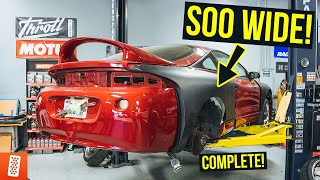 Building a Modern Day (Fast & Furious) 1998 Mitsubishi Eclipse GSX - Part 5 - Widebody Kit is DONE!