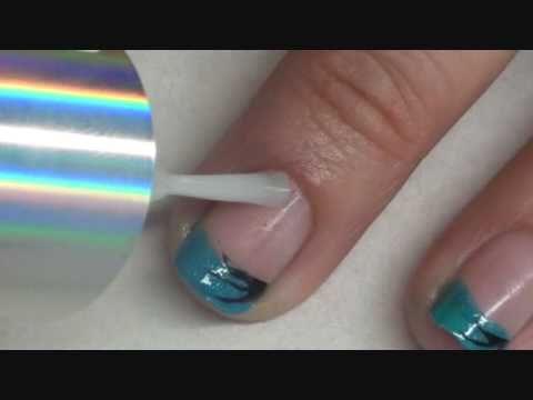 Easy simple nail art /Unha decorada fácil rápido e simples...