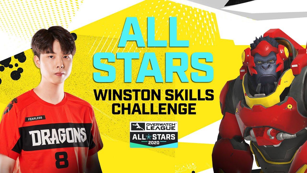 Winston Skills Challenge | Overwatch League 2020 All-Stars | APAC