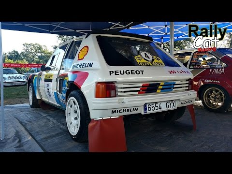 Peugeot 205 T16 Evo 1 Group B / Pure Sound , Start , Accelerations