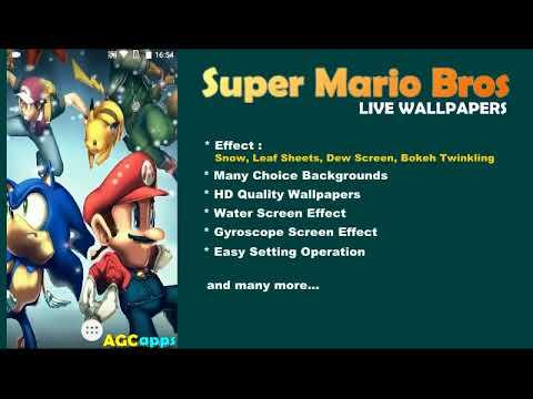 Super Mario Bros Live Wallpapers