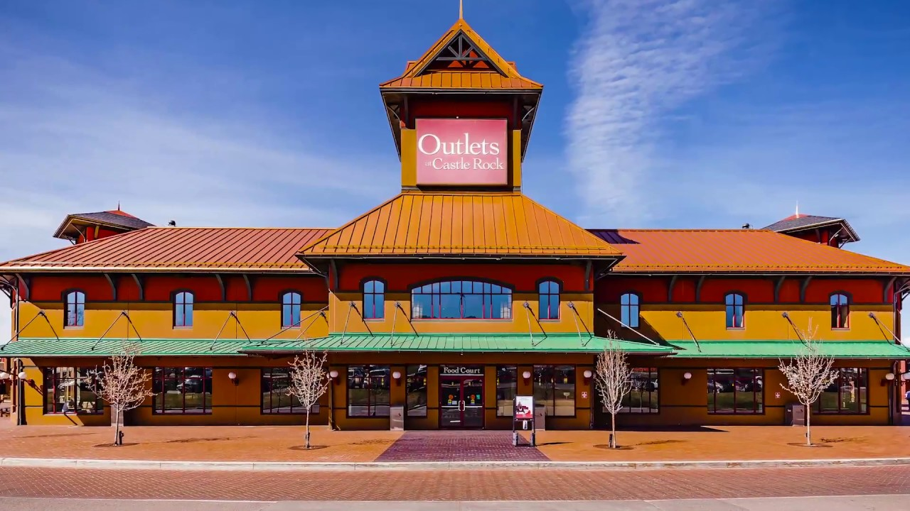 Outlets at Castle Rock - Best Outlet Shopping Experience - Colorado 2018