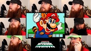 Repeat youtube video Super Mario Bros 3 - Athletic (Overworld 2) Acapella