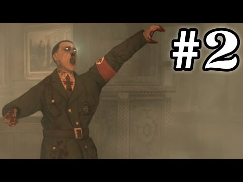 HITLER ZOMBIE! - DAS HERRENHAUS w/Coscino #2 (Call of Duty Zombies) ITA