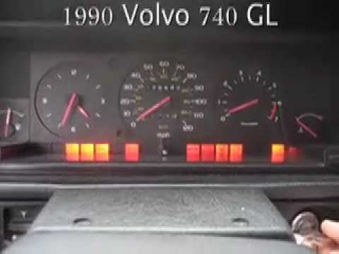Volvo 740GL Starting Problems - YouTube
