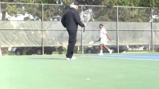 2013. November Morning Tennis. Visalia. California