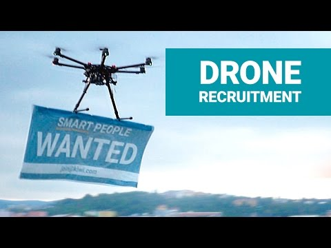 Drone Recruitment - Smart People Wanted