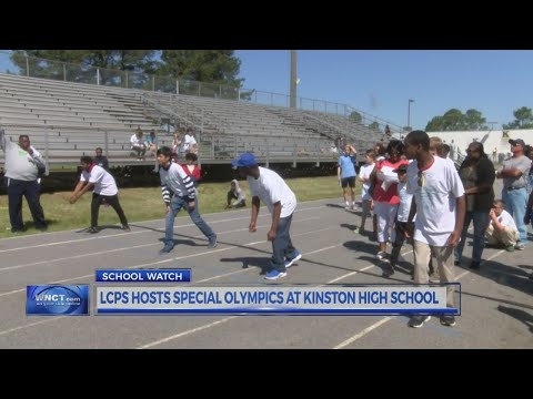 LCPS hosts Special Olympics at Kinston High School