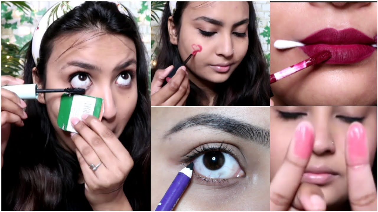 10 Lazy Makeup Hacks in Daily Life😍 !! Quick Makeup Tips to Get  Ready !! Quirkwithkomal