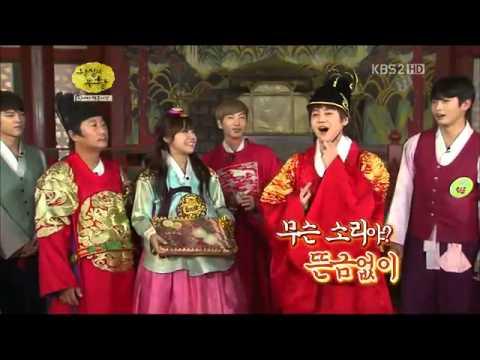 B2ST King Yoseob & APINK Queen Eunji @Idol Prince