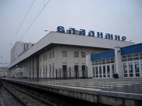 На поезде Владимир-Нижний Новгород