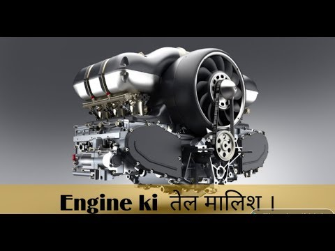 How Engine Lubrication system works ? Fully explained on eng