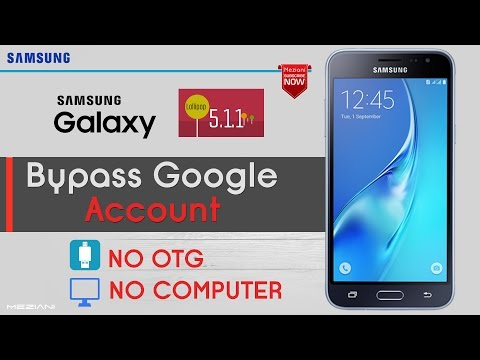 Bypass Google Account Samsung Android 5.1.1 Without COMPUTER Or OTG