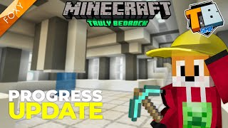 BASE PROGRESS | Truly Bedrock Season 1 [113] | Minecraft Bedrock Edition 1.14 SMP