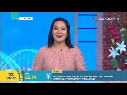 22.01.2018 – Tańsholpan. Таңғы ақпаратты-сазды бағдарлама