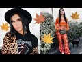 FALL 2018 FASHION TRENDS LOOKBOOK - HOW TO STYLE NEON, ANIMAL PRINT + MORE!