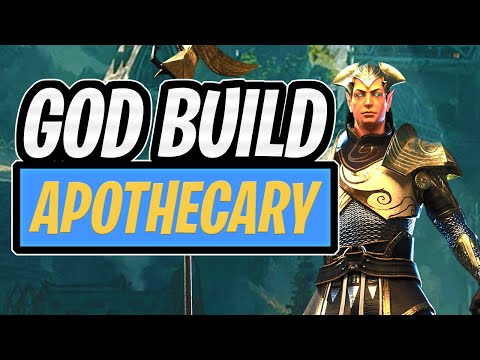 APOTHECARY - GOD BOOSTER BUILD - SHOWCASE   GIVEAWAY DAY 11   RAID SHADOW LEGENDS