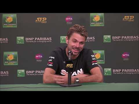 Stan Wawrinka Post-Match Press Conference - YouTube