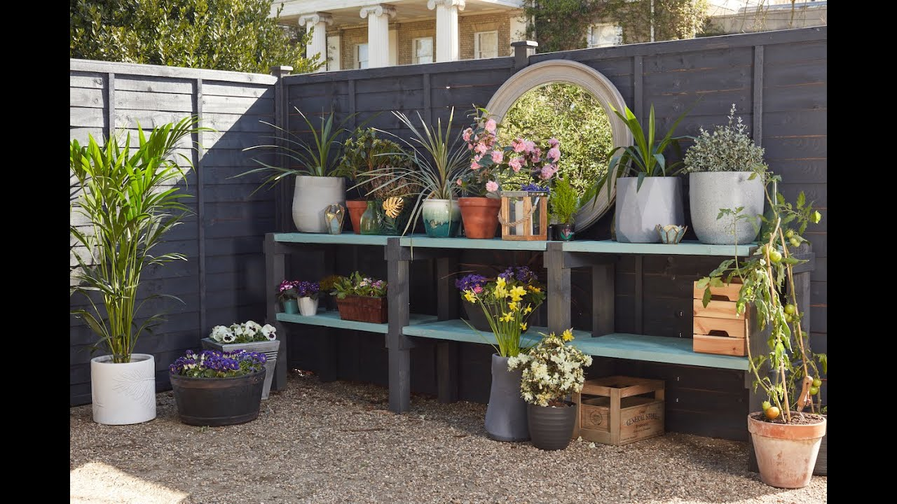 Fence shelving project with Wickes