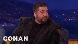 Why Jay Oakerson Has Never Done Stand-Up On CONAN  - CONAN on TBS