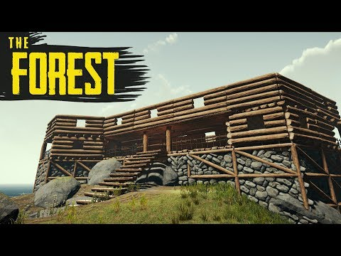 BUILDING THE MANSION! The Forest Hard Survival S3 Episode 21