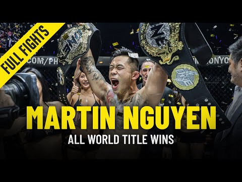 Every Martin Nguyen World Title Win In ONE Championship