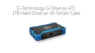 G-Technology G-Drive ev ATC 1TB Hard Drive w/ All-Terrain Case by Sweetwater