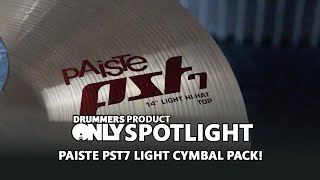 Product Spotlight! - Paiste PST7 Light Cymbal Set