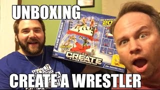 Create A Wwe Superstar Full Set Wrestling Figures Unboxing!!!